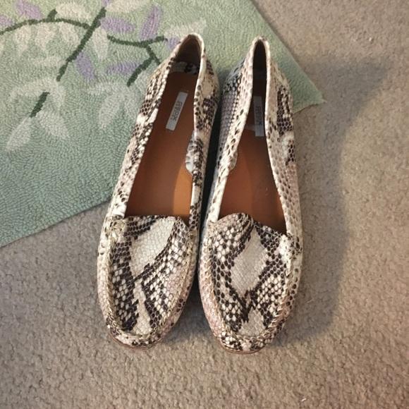 16d6c49311 Geox Shoes | Nudecream Reptile Leather Loafers | Poshmark